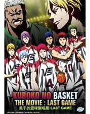 DVD Kuroko's Basketball THE MOVIE : LAST GAME Kuroko Basuke Anime Boxset