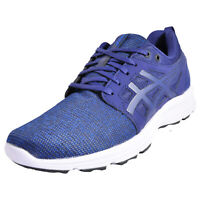 0a78c0c6 Asics Gel Torrance Mens Black Grey Blue Running Shoes Trainers Size ...