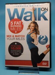 Walk On ( 5 Fat Burning Miles ) Jessica Smith DVD