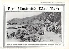 World War 1 Print 1915 Australians New Zealanders Under Heavy Fire Gaba Tepe