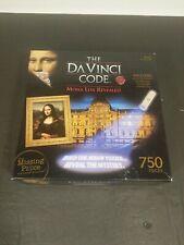 New Da Vinci Code: The Mona Lisa Revealed 750-Piece Mystery Jigsaw Puzzle