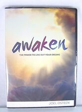 NEW!~AWAKEN~POWER TO LIVE OUT YOUR DREAMS~3 CD/DVD SERIES~JOEL OSTEEN MINISTRIES