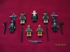 LEGO LOTR Minifigures Lot.Goblins,Mordor,Orcs,  Soldiers ,Armor,Helmet,Weapons