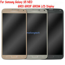 Per Samsung Galaxy S5 Neo SM-G903F Amoled Lcd Display Touch Screen Schermo Vetro