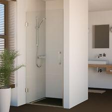 Nischenabtrennung Duschtür Duschabtrennung Duschwand Dusche Nische Rahmenlos