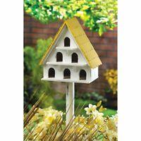 Cape Cod Bird Condo Bird House Garden Yard Patio Deck