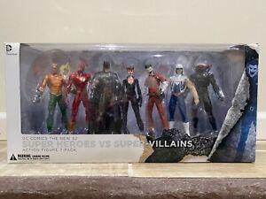 DC Collectibles ~ Super Heroes Vs. Super Villains Action Figure 7-Pack