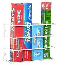 Kitchen Cabinet Wall Mount Pantry Closet Door Wrap Rack Organizer Storage Steel
