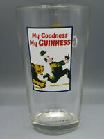 My Goodness My GUINNESS Draught Stout LION 16 oz Pint Shaker Beer Glass