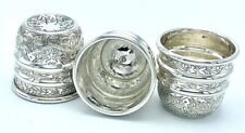 Sherwood Limited Edition Solid Silver Engraved MIDI Cups - Magic Tricks
