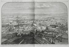 LAZIO:Veduta Panoramica di ROMA-ROME.CM 48X33.800Ina..