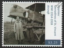 WWI FARMAN MF.11 Shorthorn Bomber Aircraft / French Capt. Berthaut & Happe Stamp