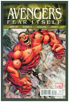 Avengers #14 VF/NM Marvel Comics 2011  Red Hulk Cover Fear Itself