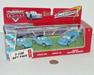 NEW - Disney Pixar Cars - Dinoco Lightning McQueen Tia Mia Diecast Metal 1:55