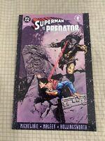SUPERMAN  VS. PREDATOR GRAPHIC NOVEL Book 2 Of 3 Brand New DC Comics