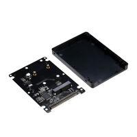 "mSATA to 2.5"" 44PIN PATA / IDE SSD Enclosure Adapter Case Solid State Drive L7U4"