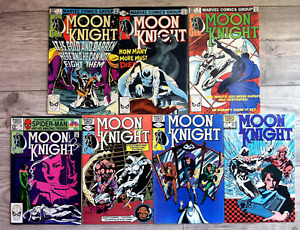 Moon Knight (1980 1st Series) - #2 to #33 - 7 Book Lot - Very Nice Condition !