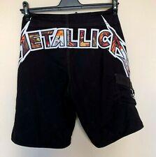 Rare Limited Edition Billabong Metallica Board Shorts Size 30