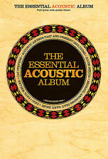 The Essential Acoustic Album Chord Songbook Learn Rock Guitar Music Book