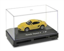 1:87 Die Cast Metal Porsche Cayman S All-in-One USB Card Reader Yellow CR73124W