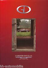 Gardner Douglas GD427 Kit Car Pressemappe press release 2002 GB Auto Pkw Europa