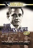 Five Minutes to Live aka Door to Door Maniac-Johnny Cash- DVD-Region 1-NEW