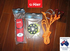 Scuba Diving Safety Package sausage reef hook reel