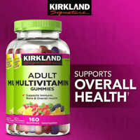 Kirkland Signature Adult Multivitamin 320 Gummies 2 x 160 Twin Pack - Vitamin C