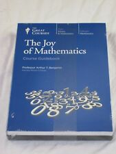 The Great Courses The Joy of Mathematics DVD's Guidebook New Sealed