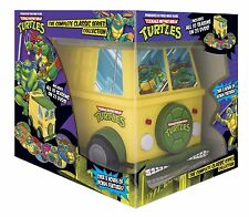 TEENAGE MUTANT NINJA TURTLES COMPLETE CLASSIC SERIES 23 DISC DELUXE BOX SET NEW
