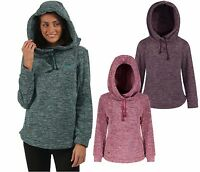Regatta Womens Kizmit Hooded Marl Fleece Top
