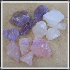 Wassersteine, Grundmischung Amethyst Bergkristall Rosenquarz, Wasser Steine NEU