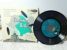 Christmas Bells Capital Records Cathedral Organ with Chines 45