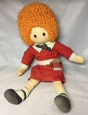 """Vintage Knickerbocker 1982 16"""" Little Orphan Annie Doll"""