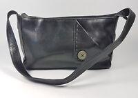 Radley black leather small handbag 22cm x 14cm