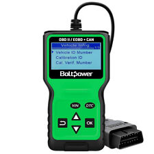 Bolt Power Engine Universal Car Code Reader Scanner Diagnostic Tool OBD2 OBDII
