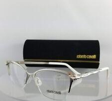 Brand New Authentic Roberto Cavalli Eyeglasses Diadema 861 024 Silver White