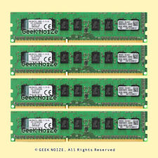Kingston ECC Unbuffered 32GB 4x 8GB PC3-12800E DDR3 1600 1.5v ECC UDIMM Memory