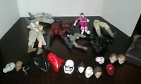 fodder lot black series , sh figuarts , power rangers ,Dc