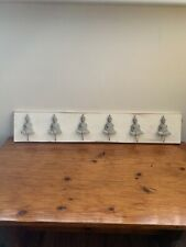 New Unique White Washed Buddha wooden wall mounted Hanging coat rack