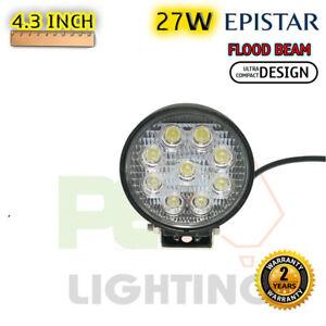 PEC 27W EPISTAR LED FLOOD WORK LIGHT + MOUNTING For HUMMER H1 H2 H3