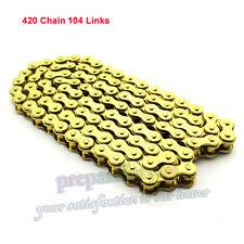 420 Chain For 4 Wheeler Rocket Sunl Taotao Kazuma 110cc 125cc Chinese ATV Quad