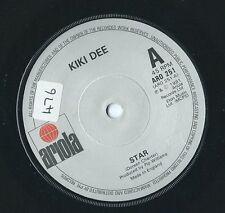 "KIKI DEE - Star (UK 7"" single 1981 VINYL)"
