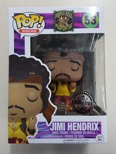 "Funko Pop! Jimi Hendrix Monterey #53 Exclusive 3.75"" Vinyl Figure - New & Sealed"