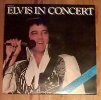 Elvis Presley – Elvis In Concert  2× Vinyl LP Album 33rpm 1977 RCA PL 02587