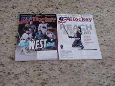 USA Hockey Magazine January and April 2017 GUC Lot of 2