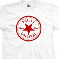 Philly Original Inverse T-Shirt - Born and Bred Philadelphia Tee All Size Colors