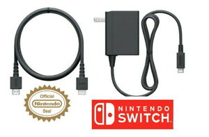 Official Nintendo Switch AC Adapter by Nintendo & HDMI Cable