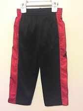 Boys Nike Jumpman Therma-Fit Black/Red Size 2T Sweatpant MSRP $53 NWT Free Ship
