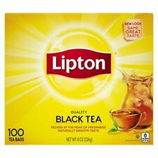 Lipton Black Tea Bags America's Favorite Tea - 100ct